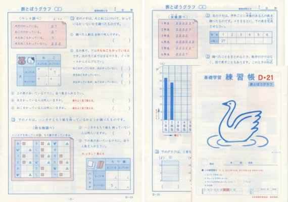 練習帳D-21(4年生用) 小学生教材