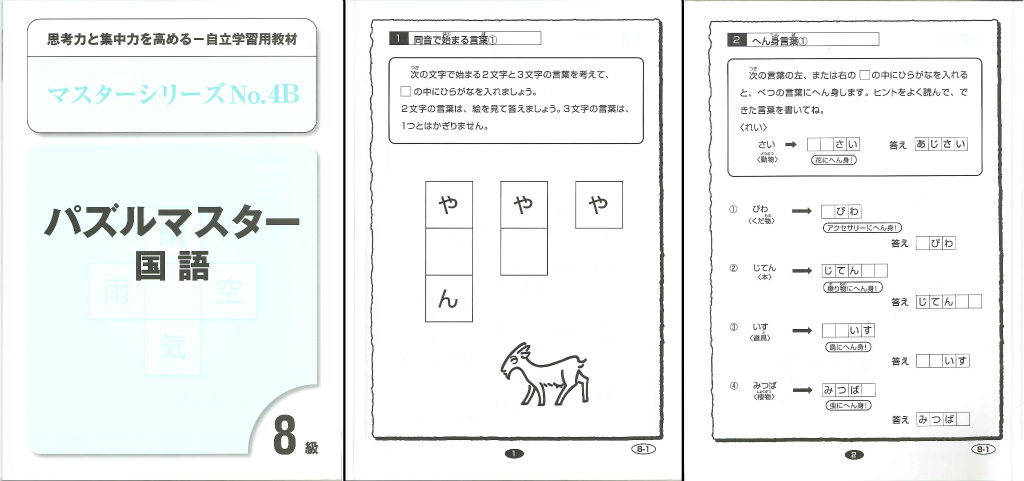 パズルマスター国語8級