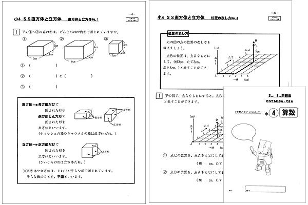 SS直方体と立方体