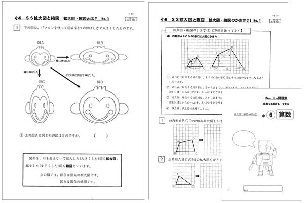 SS拡大図と縮図